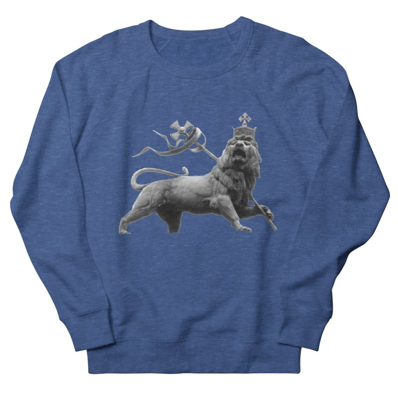 Lion of Judah Men's French Terry Sweatshirt by Ugovi Artist Shop