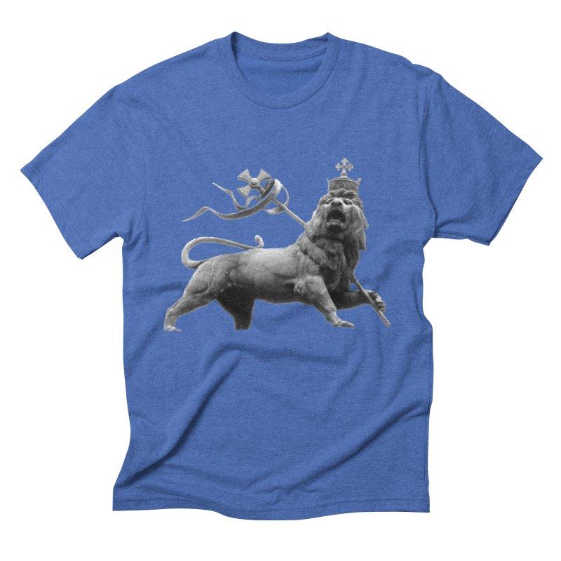 Lion of Judah Men's Triblend T-Shirt by Ugovi Artist Shop