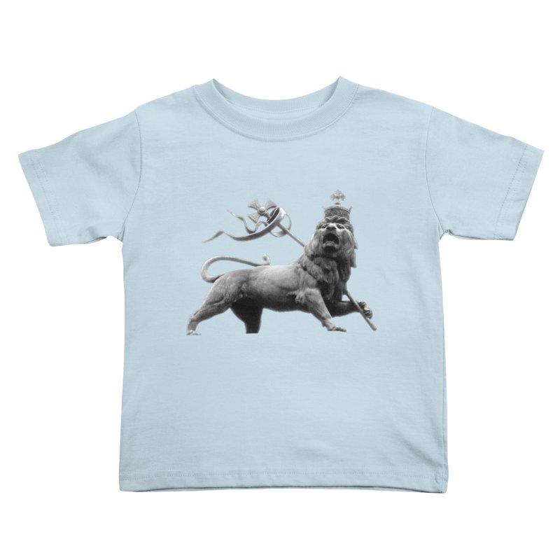 Lion of Judah Kids Toddler T-Shirt by Ugovi Artist Shop