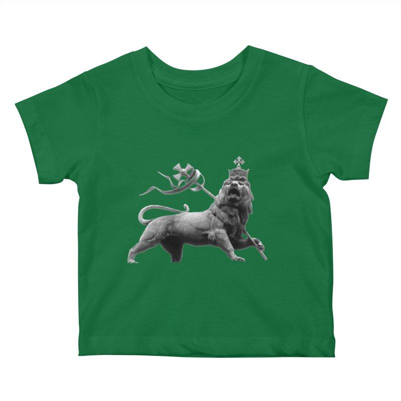 Lion of Judah Kids Baby T-Shirt by Ugovi Artist Shop