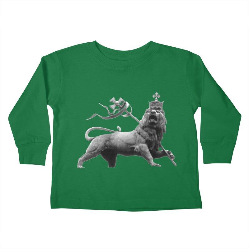 Lion of Judah Kids Toddler Longsleeve T-Shirt by Ugovi Artist Shop