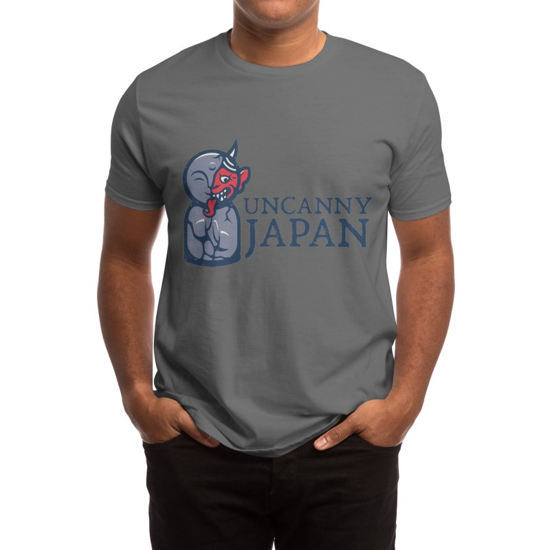 Uncanny Japan-Horizontal Men's T-Shirt by UncannyJapan's Artist Shop