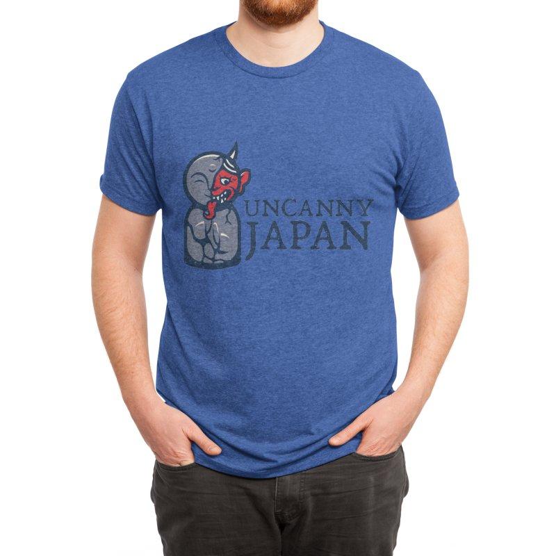 Uncanny Japan-Horizontal Men's T-Shirt by UncannyJapan's Artist Shop