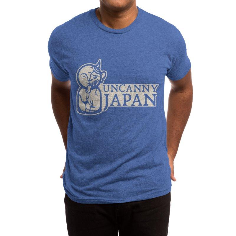 Uncanny Japan-horizontal-white Men's T-Shirt by UncannyJapan's Artist Shop