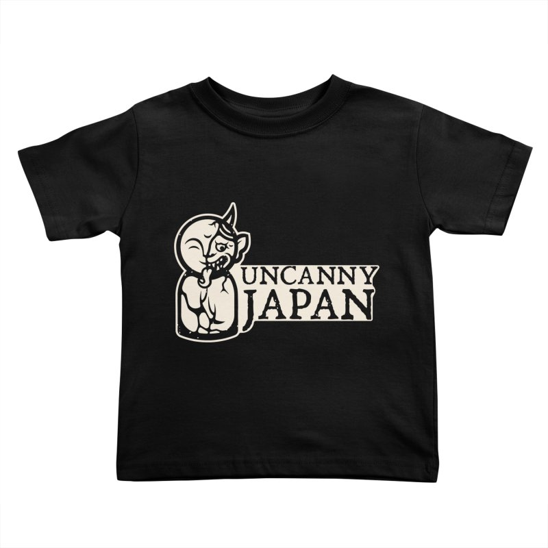 Uncanny Japan-horizontal-white Kids Toddler T-Shirt by UncannyJapan's Artist Shop