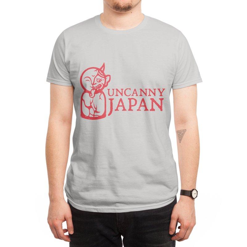 Uncanny Japan - Horizontal-red Men's T-Shirt by UncannyJapan's Artist Shop