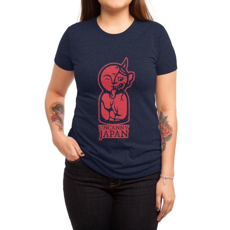 Uncanny Japan-vertical-red Women's T-Shirt by UncannyJapan's Artist Shop