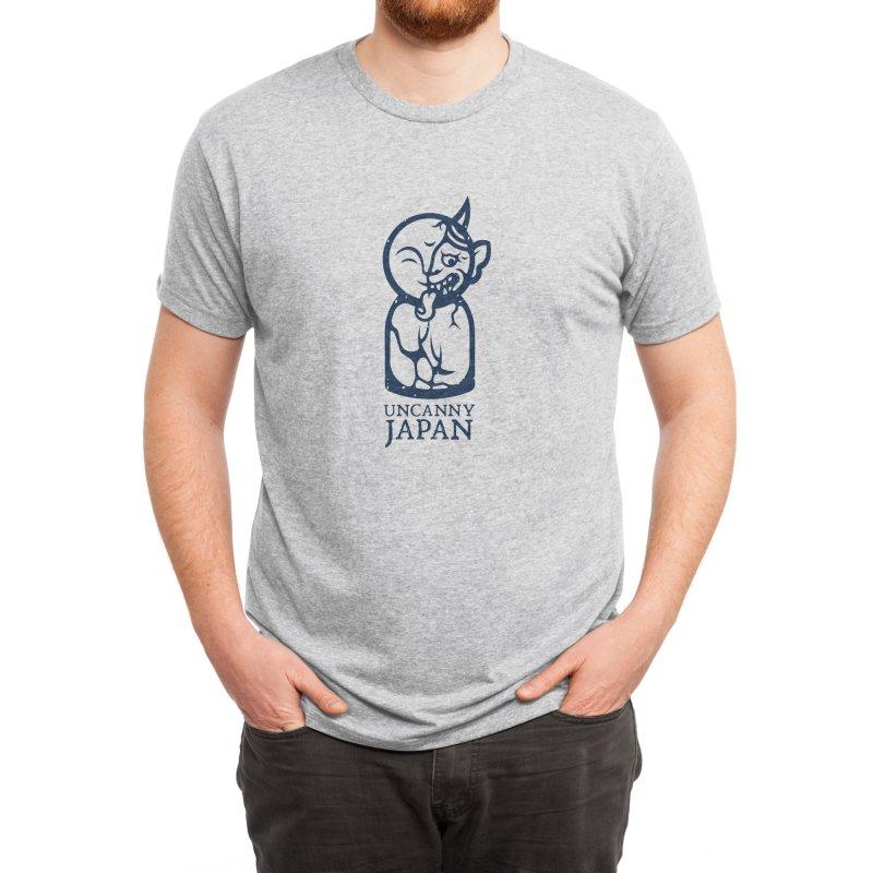Uncanny Japan-vertical-blue Men's T-Shirt by UncannyJapan's Artist Shop