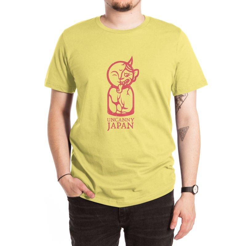 Uncanny Japan-vertical-red Men's T-Shirt by UncannyJapan's Artist Shop