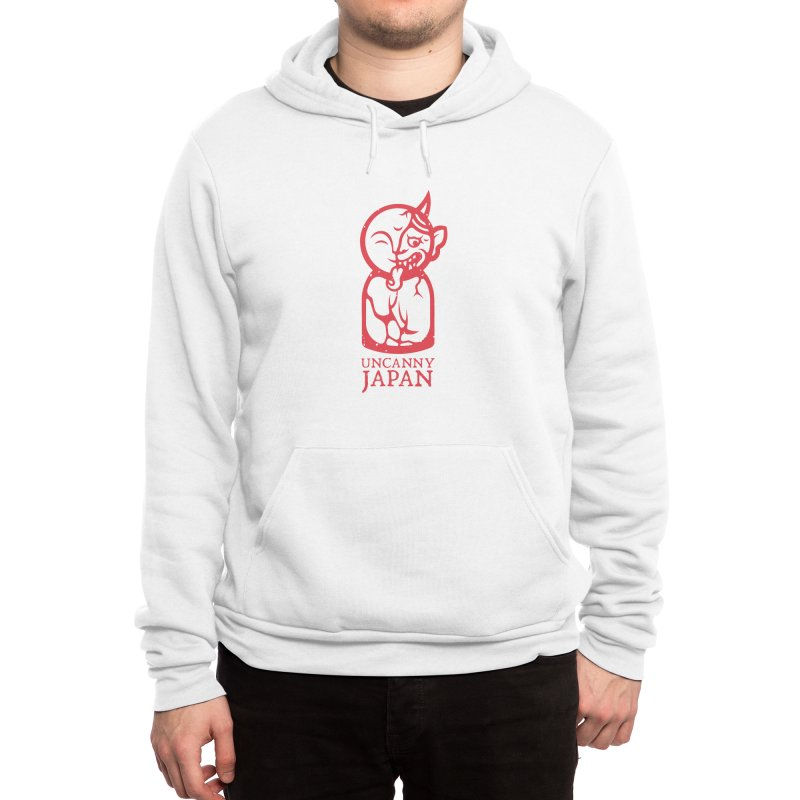 Uncanny Japan-vertical-red Men's Pullover Hoody by UncannyJapan's Artist Shop