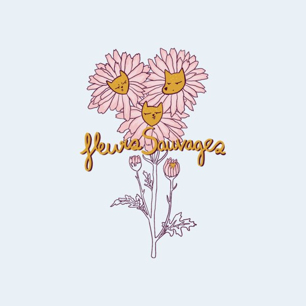 Design for Fleurs sauvages
