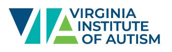 Virginia Institute of Autism Shop Logo