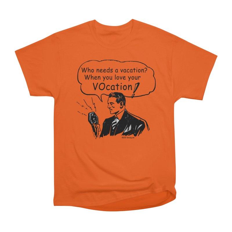 Retro VOcation Men's T-Shirt by VOriety Designs by VoiceOverDude
