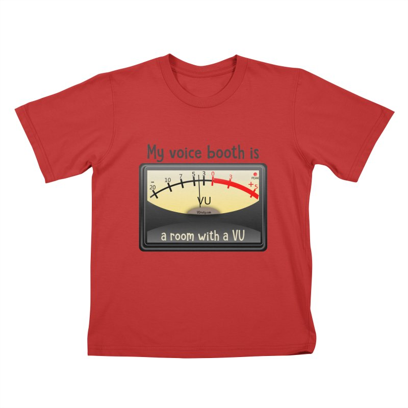 Room with a VU! Kids T-Shirt by VOriety Designs by VoiceOverDude