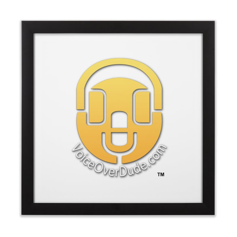 VoiceOverDude Swag Home Framed Fine Art Print by VOriety Designs by VoiceOverDude