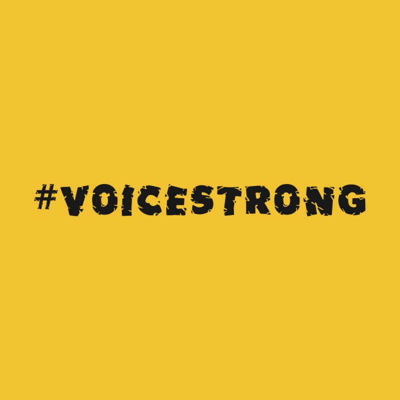#VOICESTRONG - Black Font by VOriety Designs by VoiceOverDude