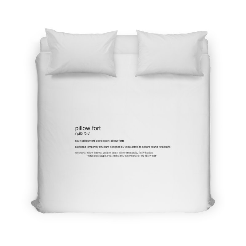 Pillow Fort! Home Duvet by VOriety Designs by VoiceOverDude