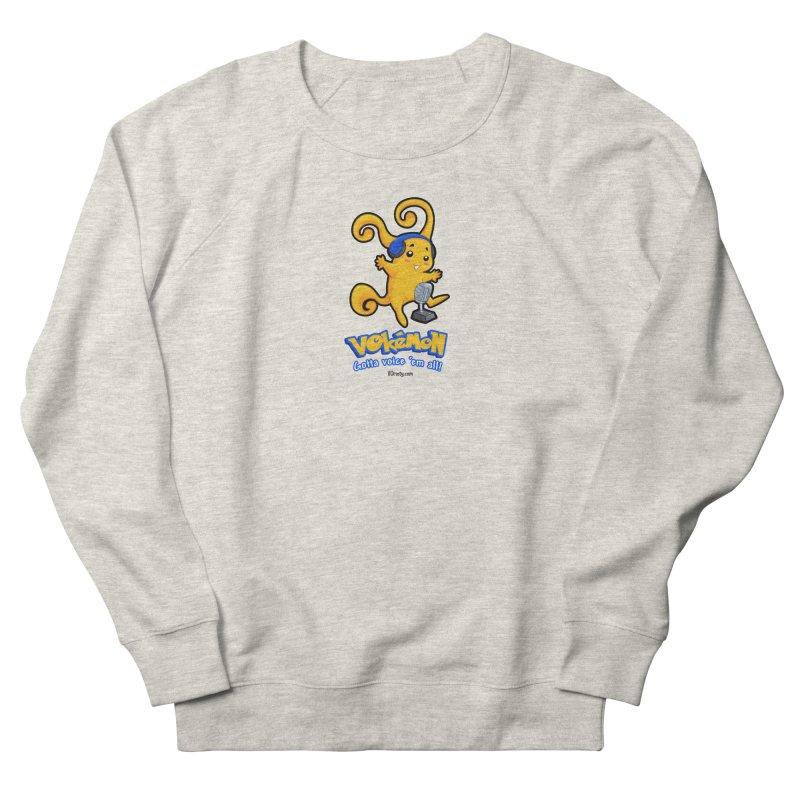 VOkémon - Gotta Voice em' all! Men's French Terry Sweatshirt by VOriety Designs by VoiceOverDude