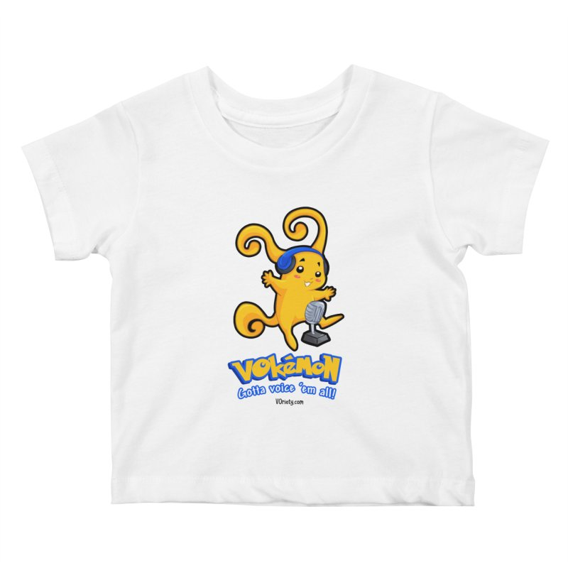 VOkémon - Gotta Voice em' all! Kids Baby T-Shirt by VOriety Designs by VoiceOverDude
