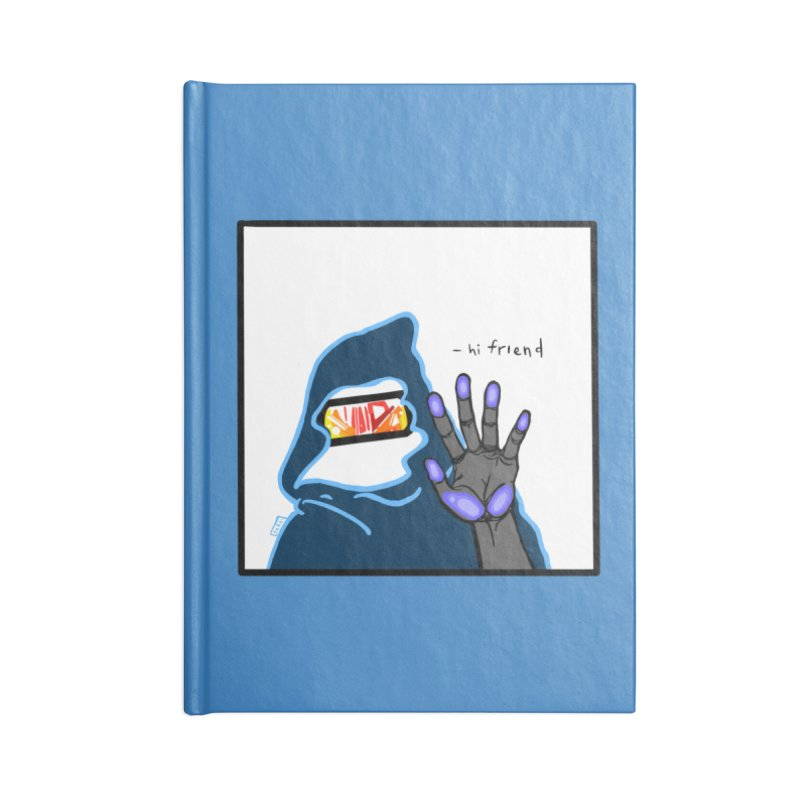 Hi Friend Accessories Notebook by VRTrend's Artist Shop