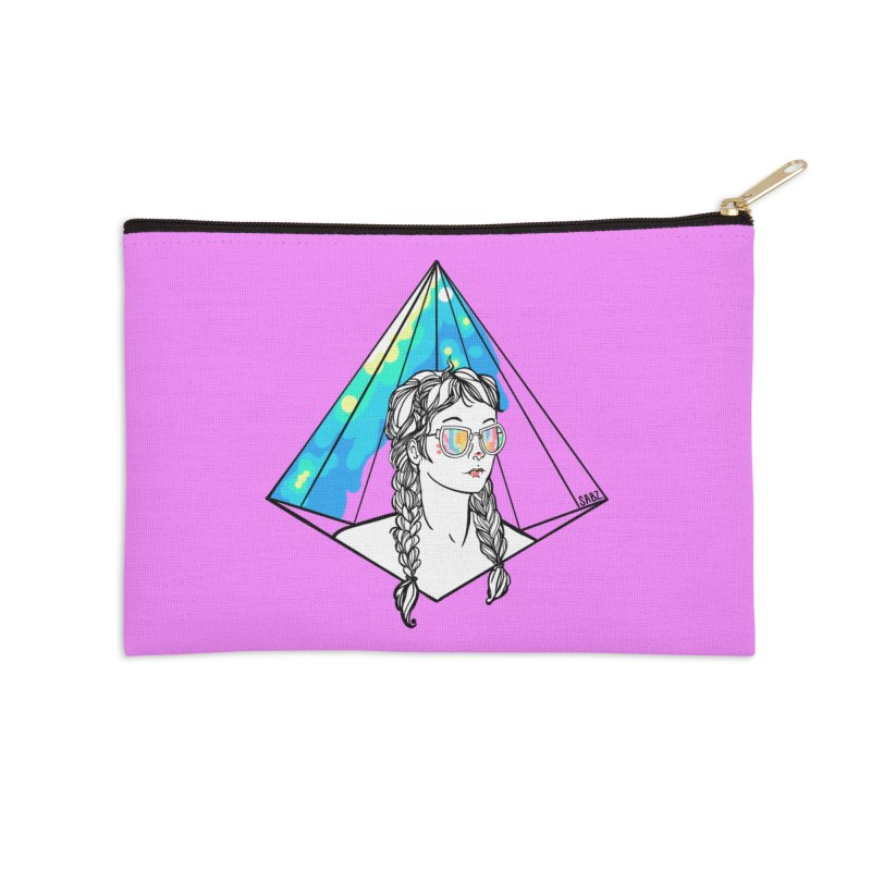 Diamond View Accessories Zip Pouch by VRTrend's Artist Shop