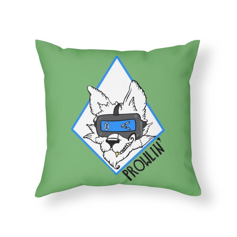 Prowler Home Throw Pillow by VRTrend's Artist Shop