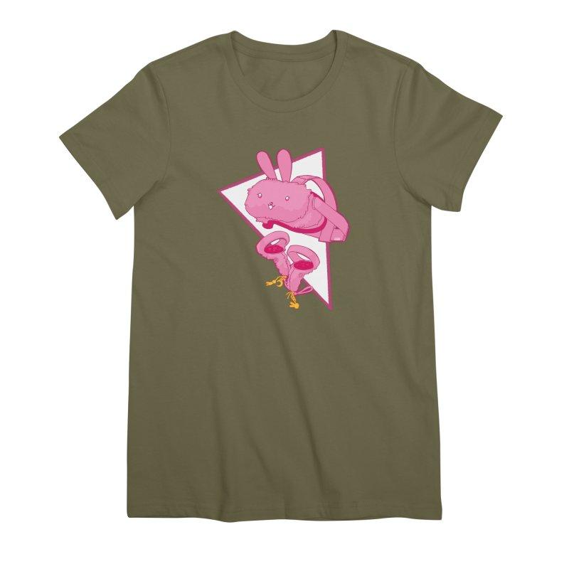 Bunny Headset Women's T-Shirt by VRTrend's Artist Shop