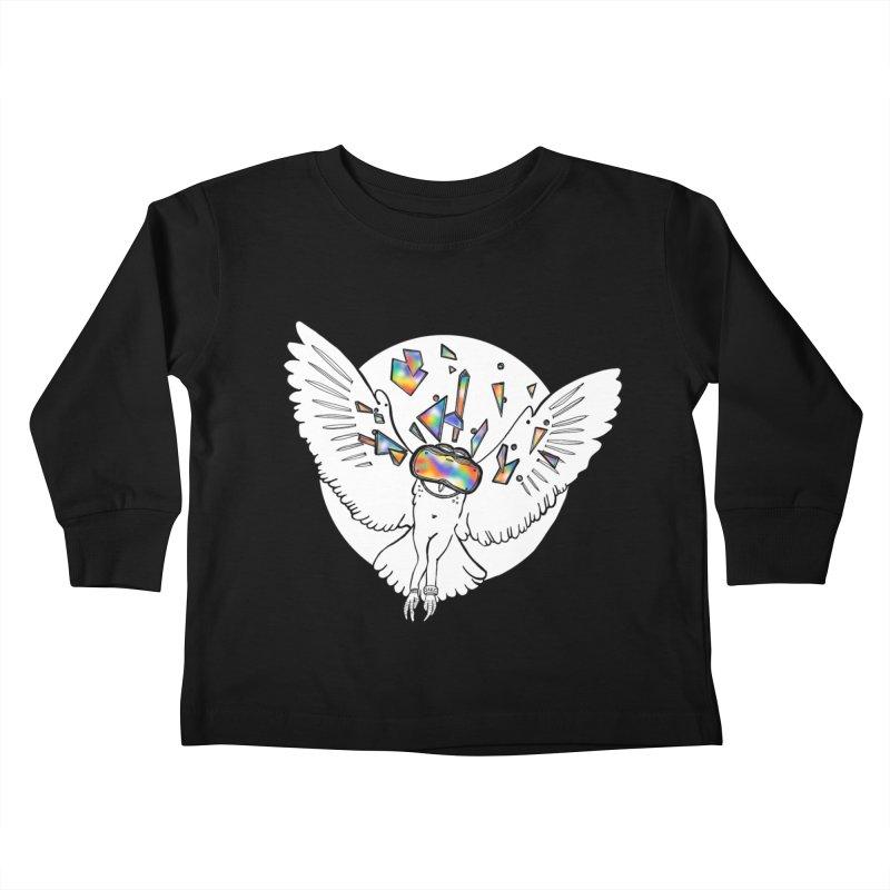 Owlculus Kids Toddler Longsleeve T-Shirt by VRTrend's Artist Shop