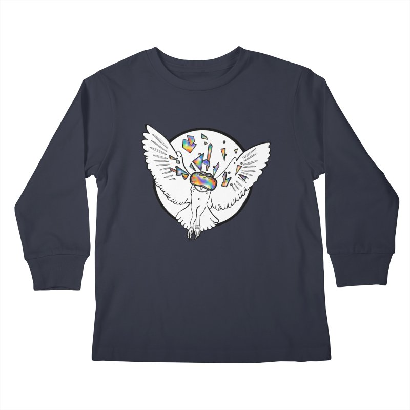 Owlculus Kids Longsleeve T-Shirt by VRTrend's Artist Shop