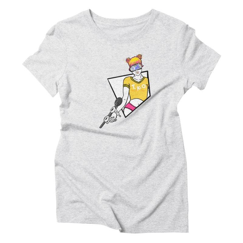 Meatball Attack Women's T-Shirt by VRTrend's Artist Shop
