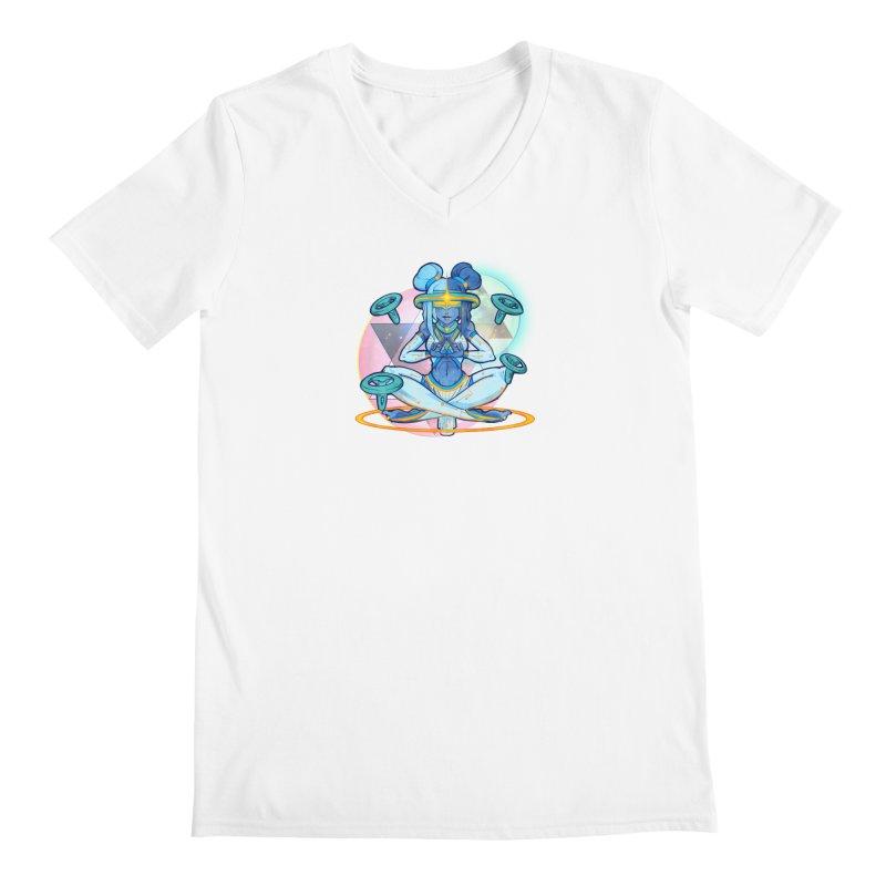 Metaverse Mogul Men's V-Neck by VRTrend's Artist Shop