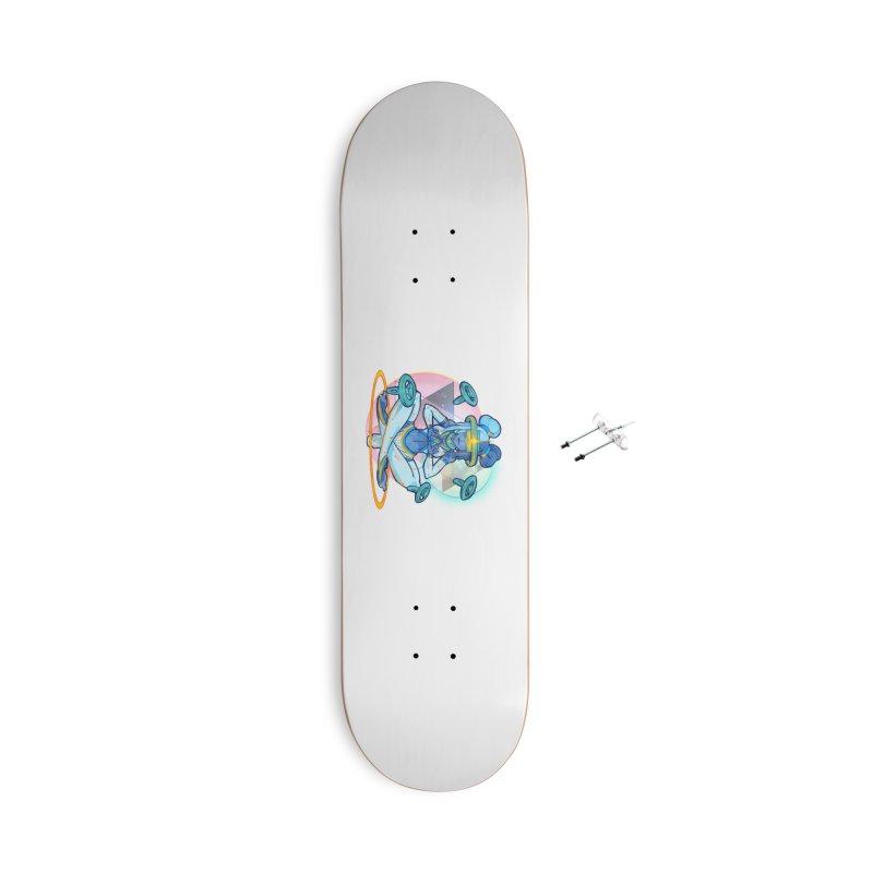 Metaverse Mogul Accessories Skateboard by VRTrend's Artist Shop