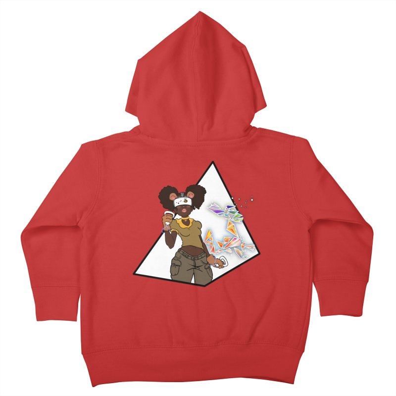 Not Your HoneyBear Kids Toddler Zip-Up Hoody by VRTrend's Artist Shop