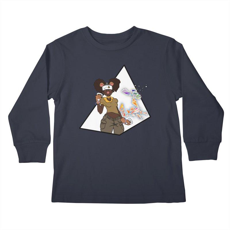 Not Your HoneyBear Kids Longsleeve T-Shirt by VRTrend's Artist Shop
