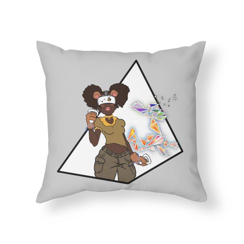 Not Your HoneyBear Home Throw Pillow by VRTrend's Artist Shop