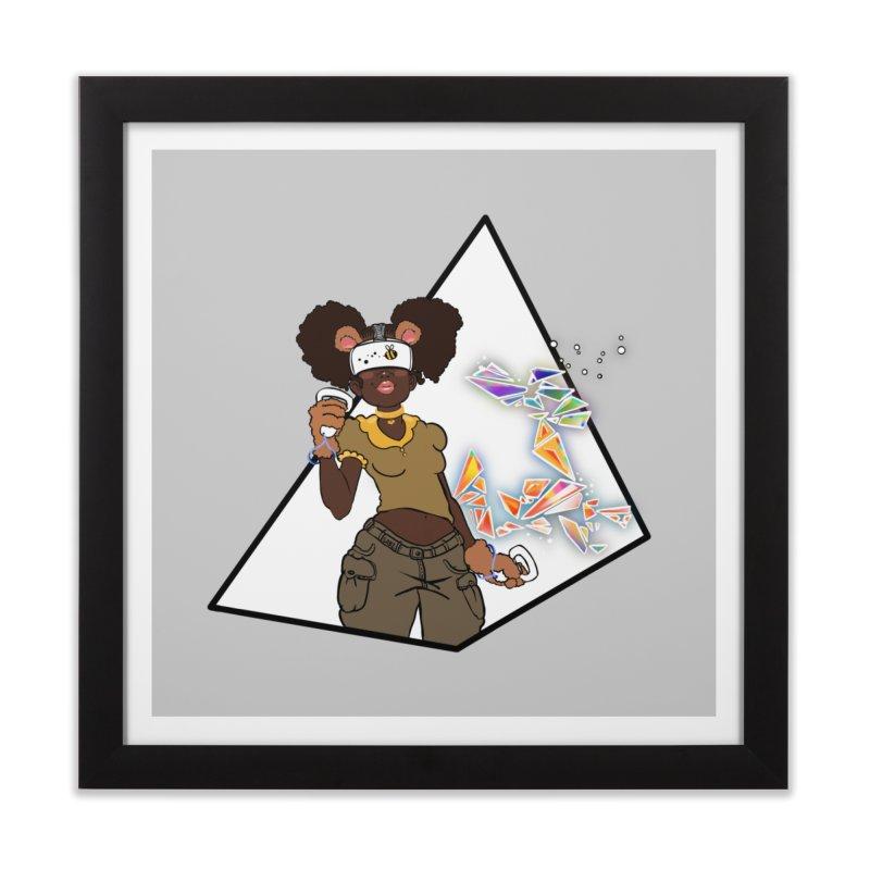 Not Your HoneyBear Home Framed Fine Art Print by VRTrend's Artist Shop