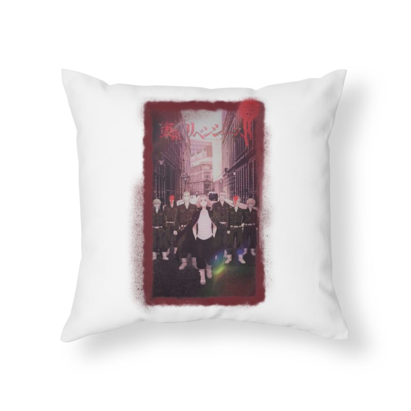 TR05 Home Throw Pillow by VRTrend's Artist Shop