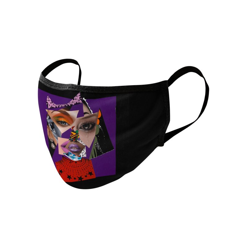 The Peace in Perfection Accessories Face Mask by Vakseen Art