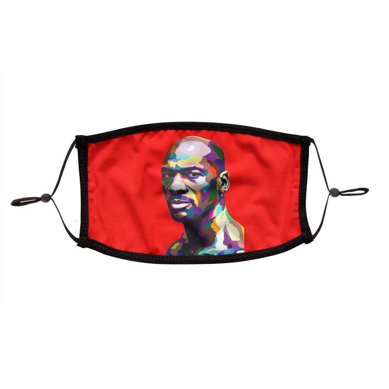 Air Jordan Accessories Face Mask by Vakseen Art