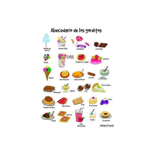 image for Abecedario de los gorditos