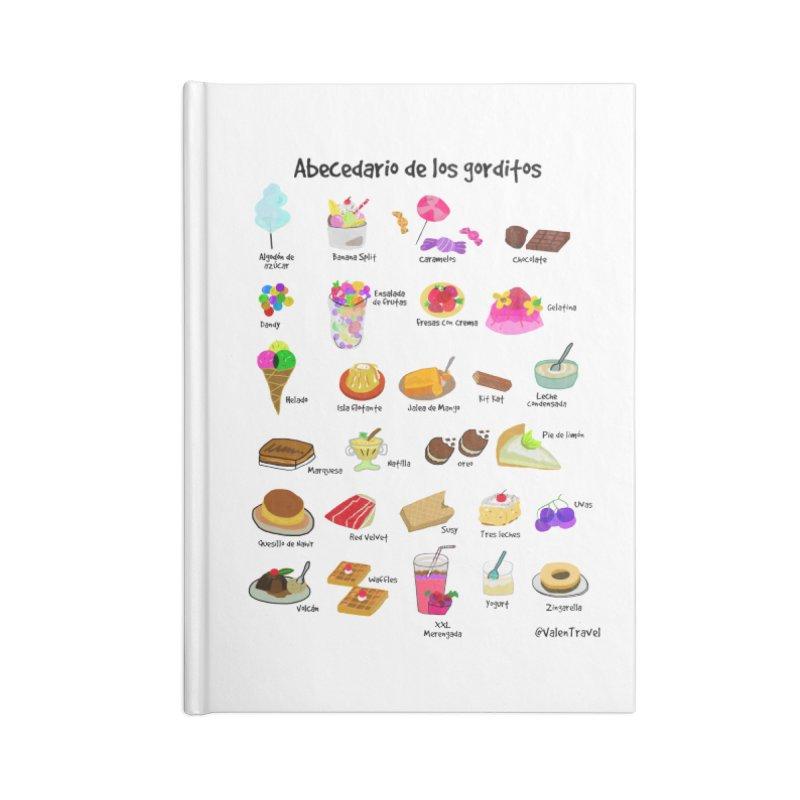 Abecedario de los gorditos Accessories Notebook by Valentravel's Artist Shop