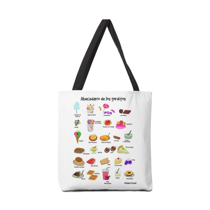 Abecedario de los gorditos Accessories Bag by Valentravel's Artist Shop