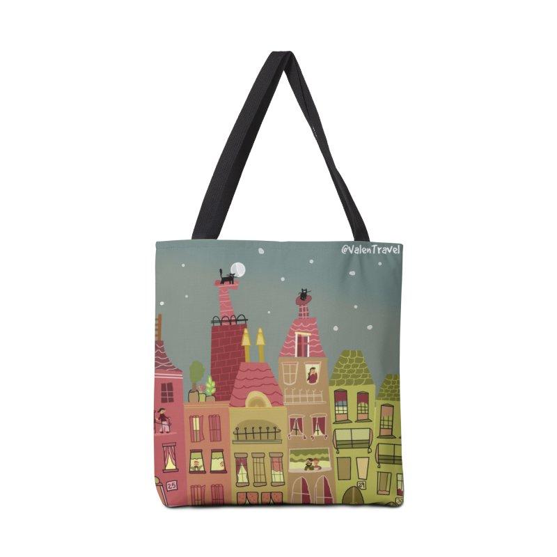 Little Town, El Pueblito. Paisajes para decorar. Accessories Bag by Valentravel's Artist Shop