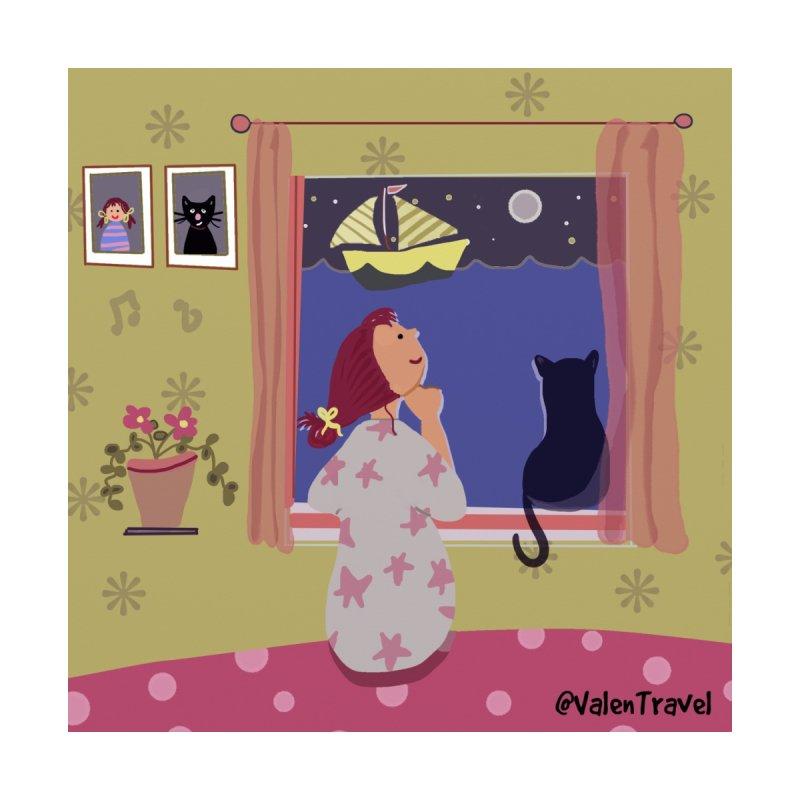 La ventana de los sueños. Paisajes para decorar tu hogar Home Fine Art Print by Valentravel's Artist Shop