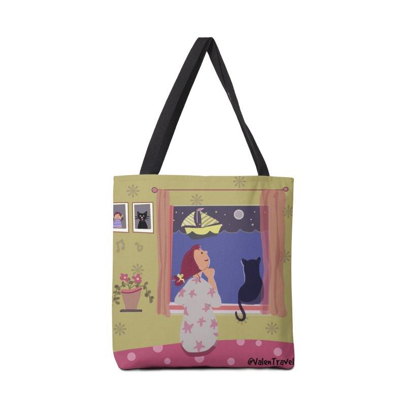 La ventana de los sueños. Paisajes para decorar tu hogar Accessories Bag by Valentravel's Artist Shop