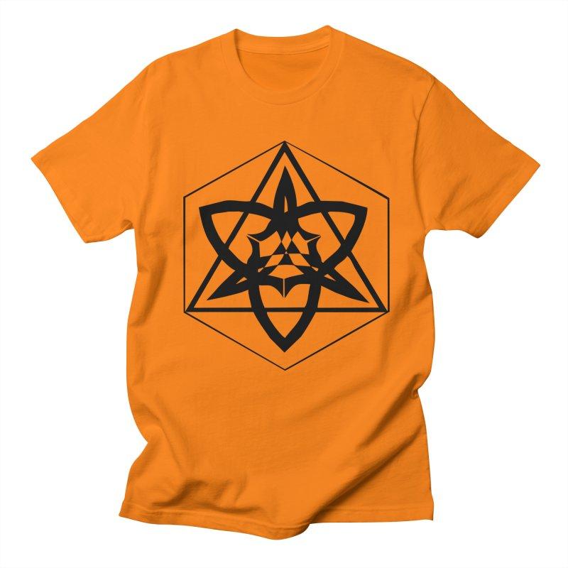 Trinity of creation Men's Regular T-Shirt by Valerius's Artist Shop