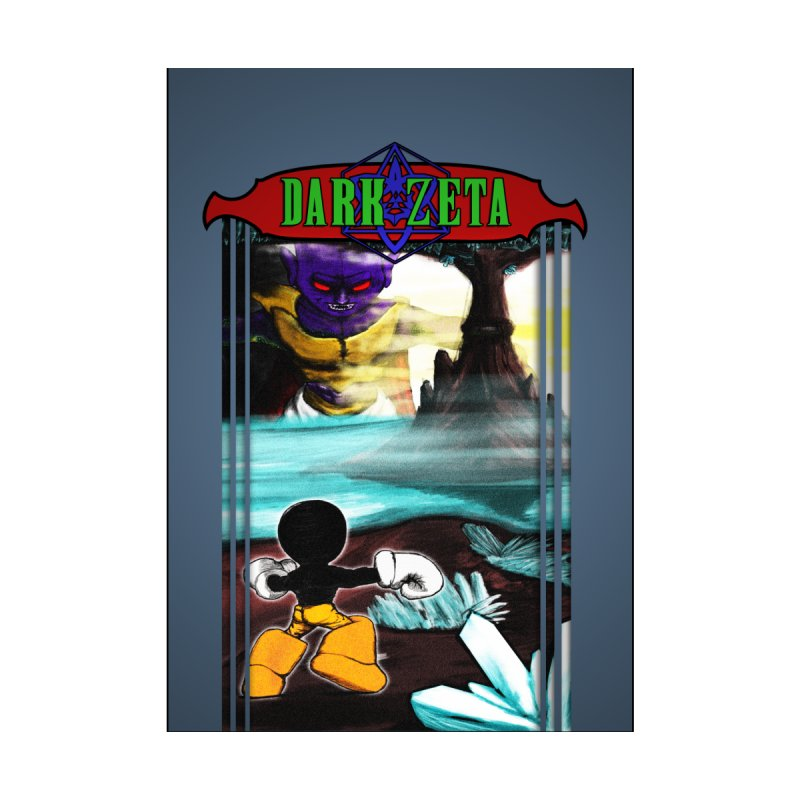 DARK ZETA NES 80s Mock Cover None  by Valerius's Artist Shop