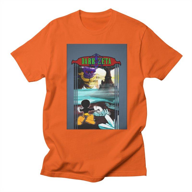 DARK ZETA NES 80s Mock Cover Men's Regular T-Shirt by Valerius's Artist Shop