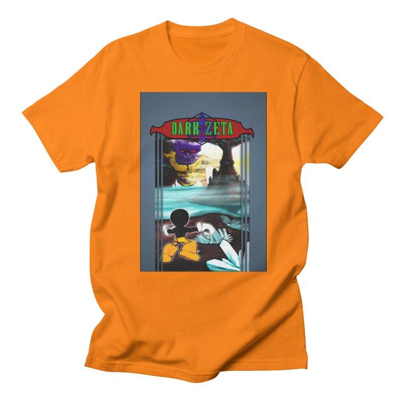 DARK ZETA NES 80s Mock Cover Men's T-shirt by Valerius's Artist Shop