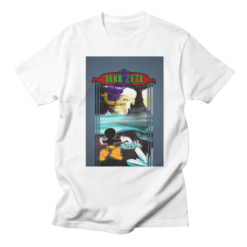 DARK ZETA NES 80s Mock Cover Men's Regular T-Shirt by Valerius's Artist Shop